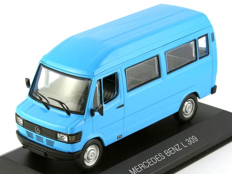 1 43 mercedes benz l 309d bus for Mercedes benz 309d