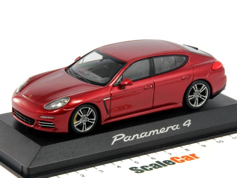 масштабные модели porsche panamera 1:43