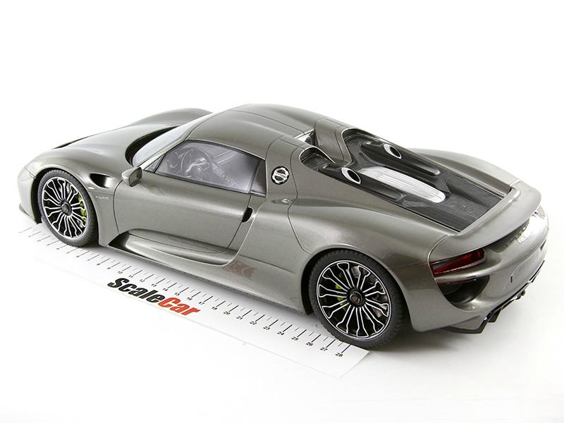 porsche spyder 918 масштабная модель