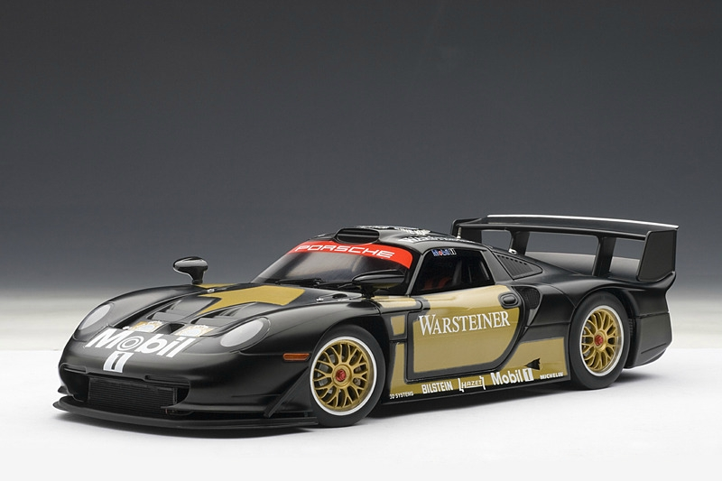 1 18 porsche 911 gt1 plain body version 1997. Black Bedroom Furniture Sets. Home Design Ideas