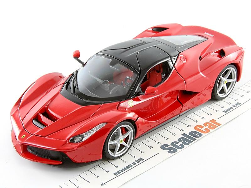 8a5f0d92 Масштабная модель 1/18 Ferrari LaFerrari красный. Купить в интернет-магазине  ScaleCar.Ru
