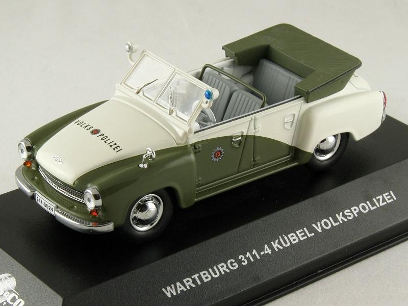 Масштабная модель 1/43 Wartburg 311-4 KUBEL VOLKSPOLIZEI