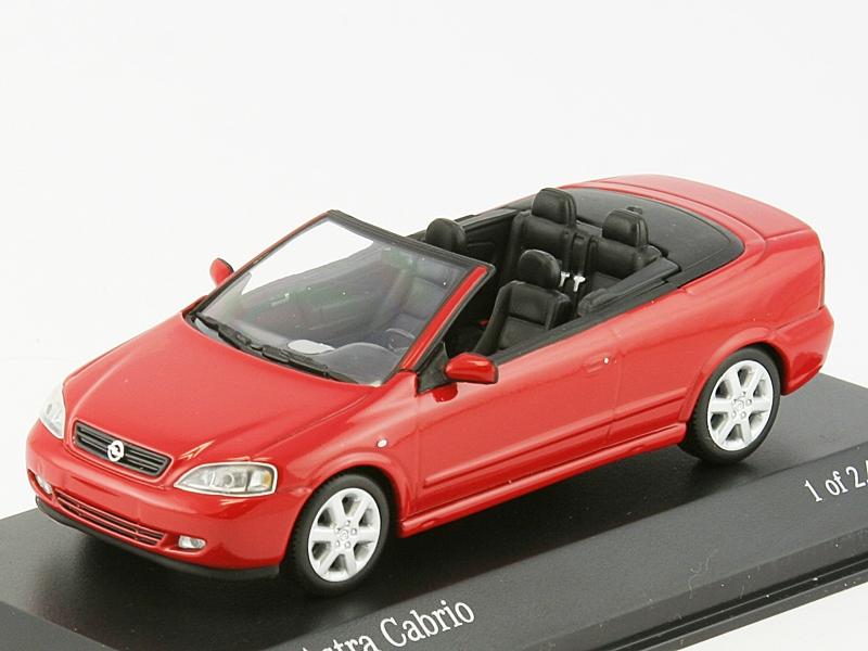 1 43 opel astra g bertone cabrio 2001. Black Bedroom Furniture Sets. Home Design Ideas