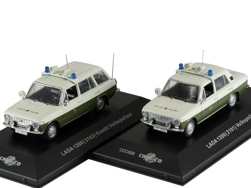 Масштабная модель 1/43 ВАЗ Набор LADA VOLKSPOLIZEI 2101 и