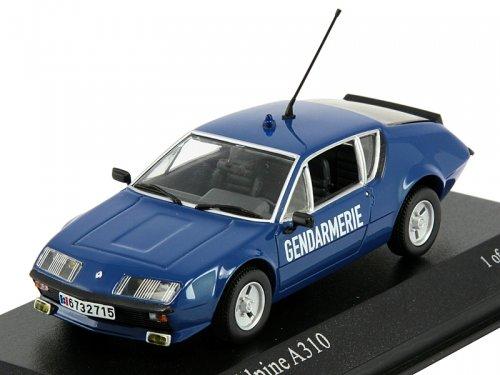 Полицейские Машины Мира №11 Alpine Renault A310