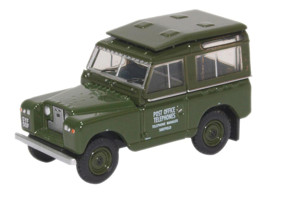1 76 land rover series ii swb hard back post office telephon 1960. Black Bedroom Furniture Sets. Home Design Ideas