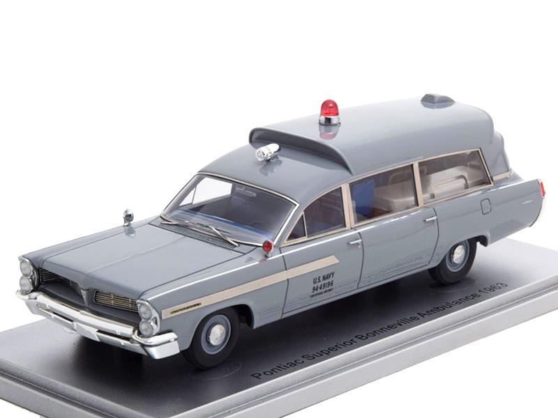 Ford Usa Amblewagon Fire Engine Ambulance 1964 Whitebox 1:43 WB181 Model