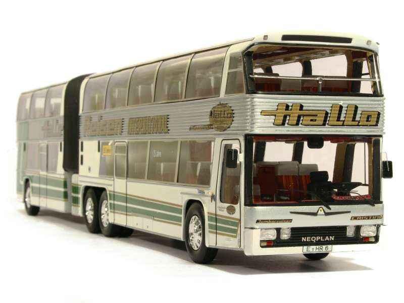 Двухэтажный сочлененный автобус Neoplan Jumbocruiser MK I ...