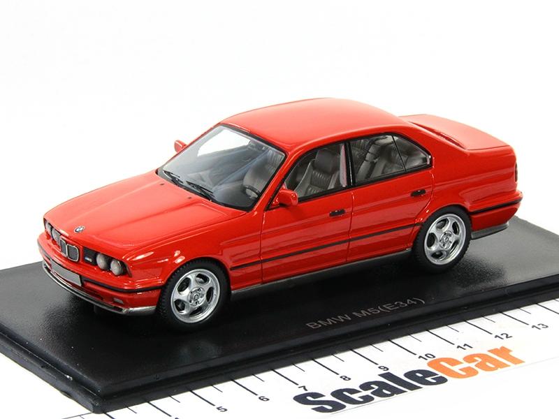 Масштабная модель BMW M5 (E34) 1994 красный лучшая цена!
