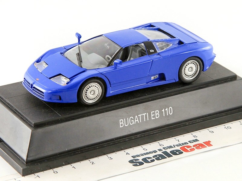 BUGATTI EB110 EB-110 DARK BLUE 1:43 MINT!!!