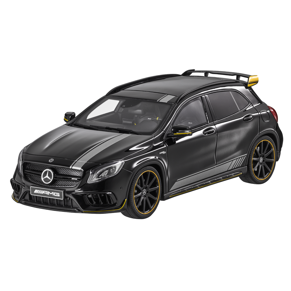 Масштабная модель Mercedes-AMG GLA 45 Yellow Night Edition