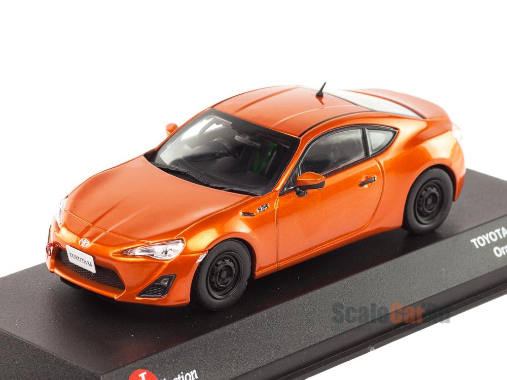 Масштабная модель Toyota GT86 Racing оранжевый лучшая цена!