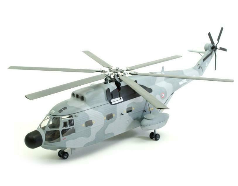 Aerospatiale sa-321 Super Frelon Helicoptere//france metal 1:72//DIECAST