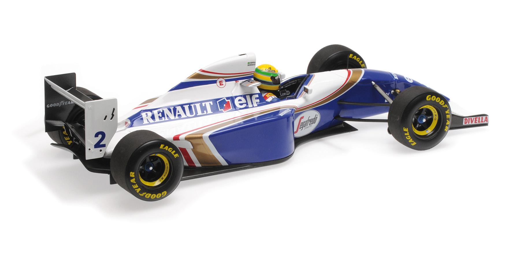 MINICHAMPS 1//18 1994-540941821 WILLIAMS RENAULT FW16 BRESIL GP
